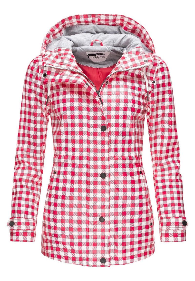 Peak Time - Waterproof jacket - rot20