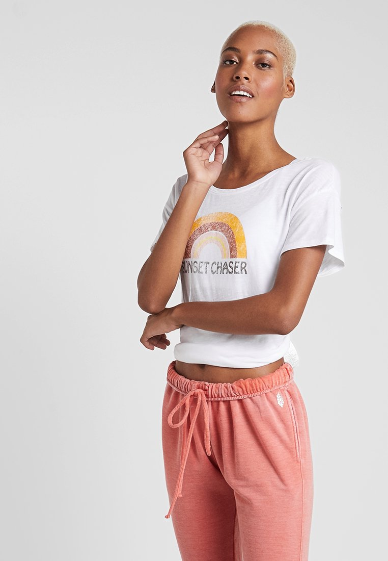 PrAna - CHEZ  - Print T-shirt - white