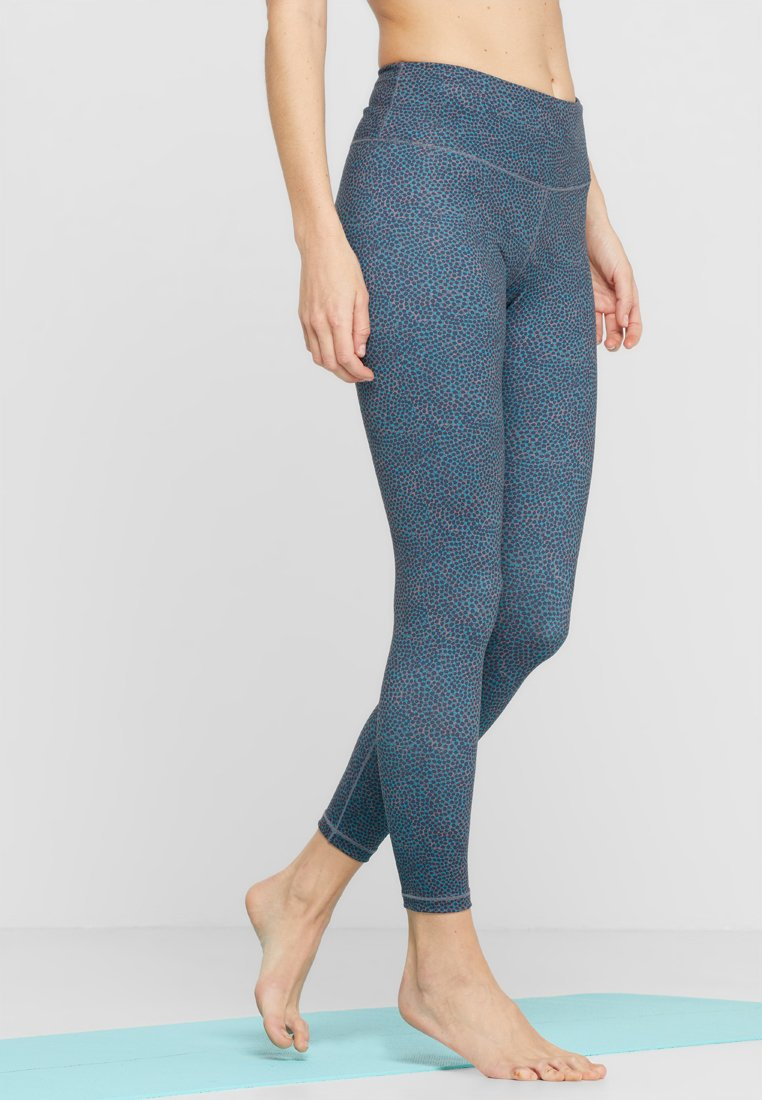 PrAna - PILLAR PRINTED LEGGING - Leggings - teal marina