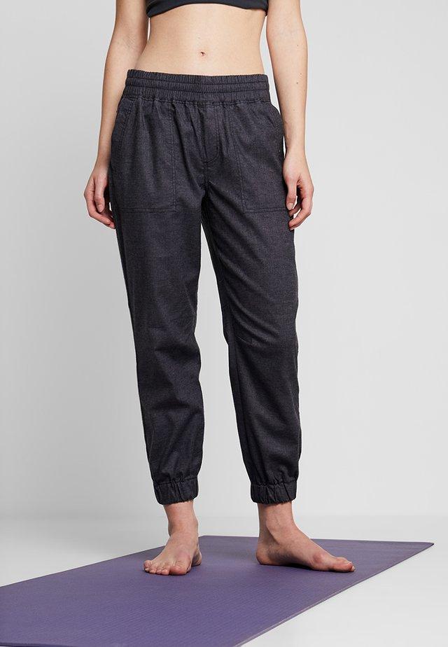 MANTRA JOGGER - Pantalon classique - coal
