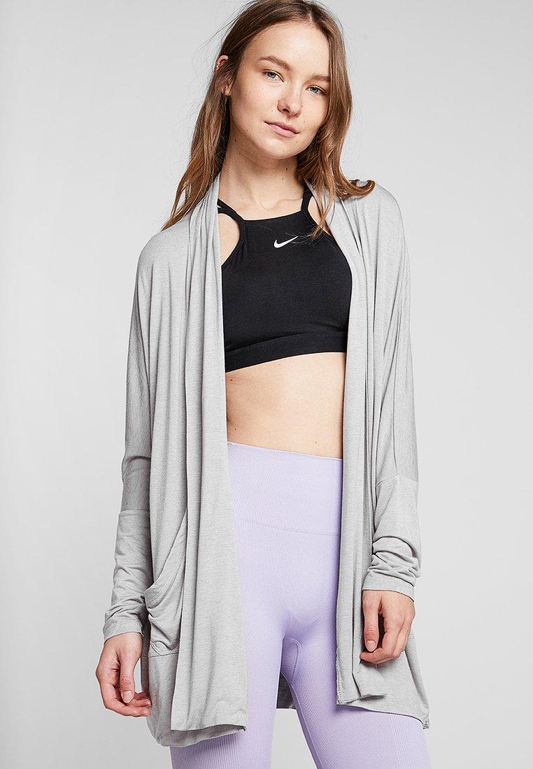 PrAna - FOUNDATION WRAP - Zip-up hoodie - light grey heather