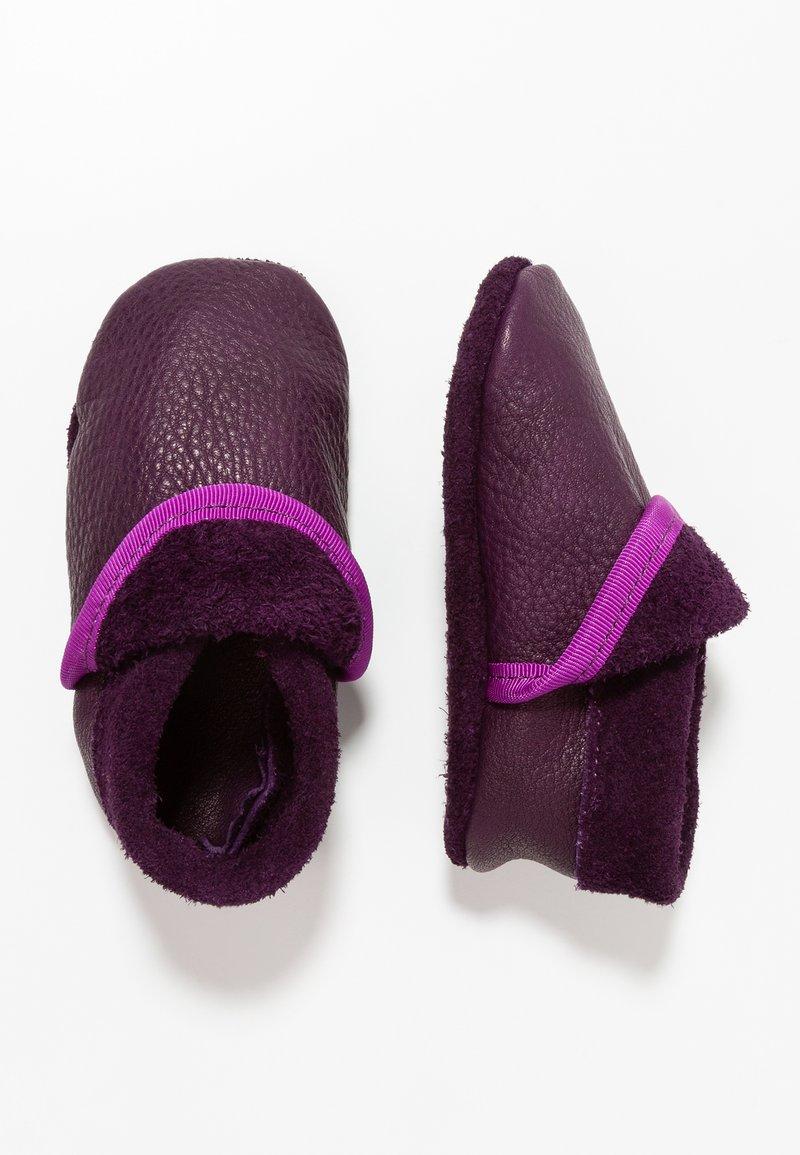 POLOLO - KLASSIK - First shoes - aubergine