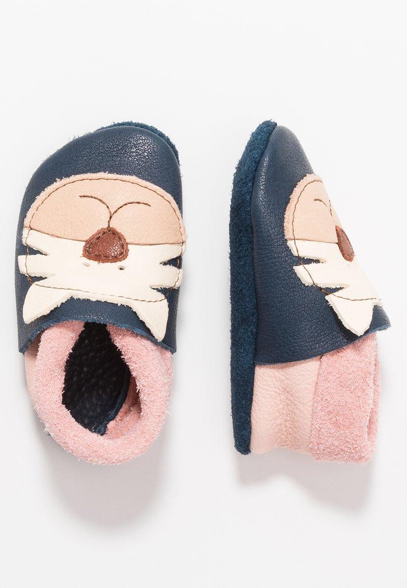 POLOLO - TIGER - First shoes - tobagoblau/rosé