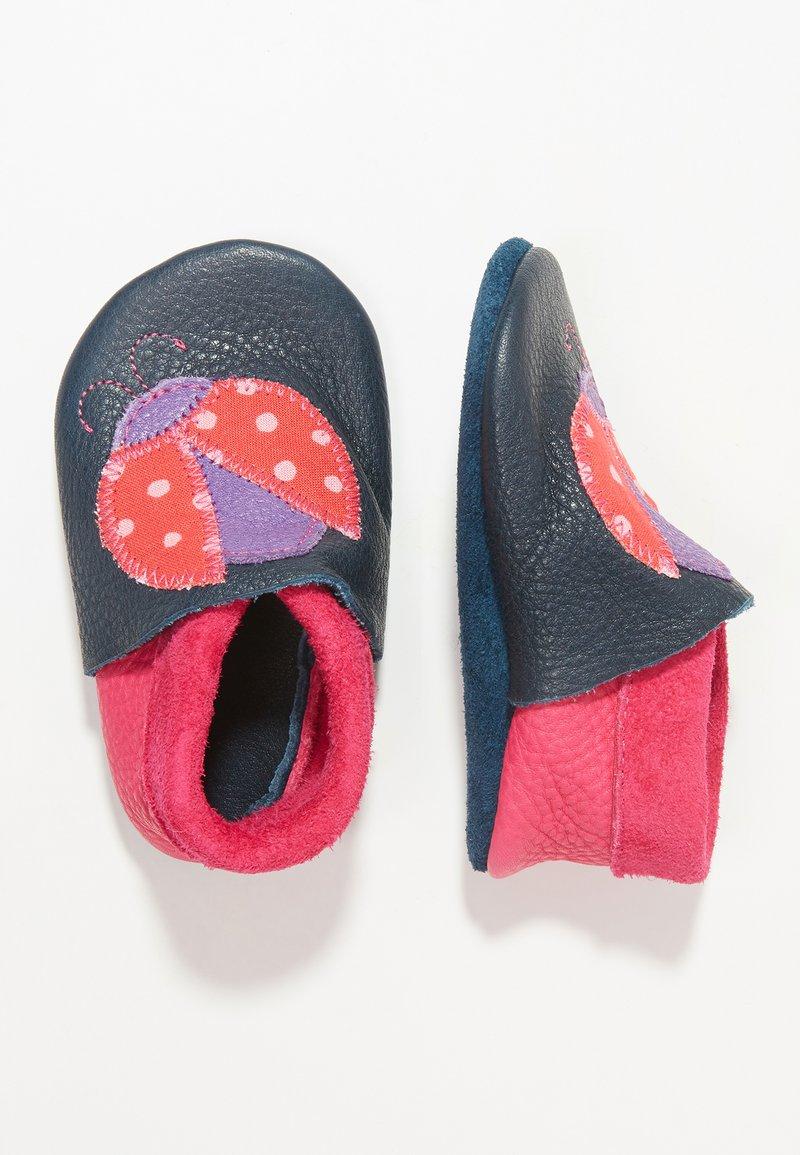 POLOLO - MARIENKÄFER - First shoes - blau
