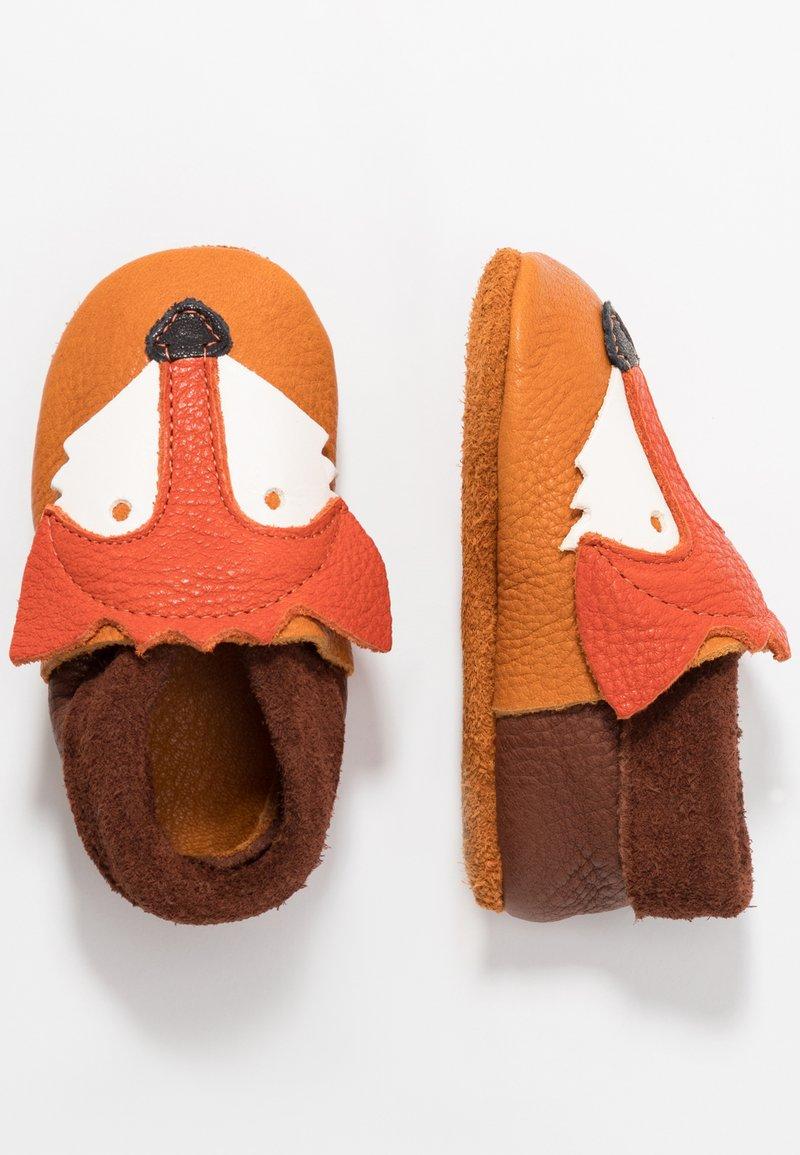 POLOLO - FUCHS - Obuwie do raczkowania  - castagno/orange