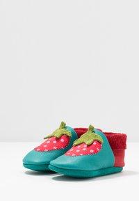 POLOLO - ERDBEERE SET - První boty - berry/waikiki - 3