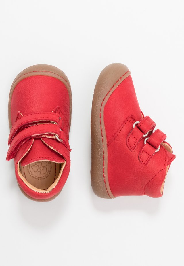 NINO - Klittenbandschoenen - rot