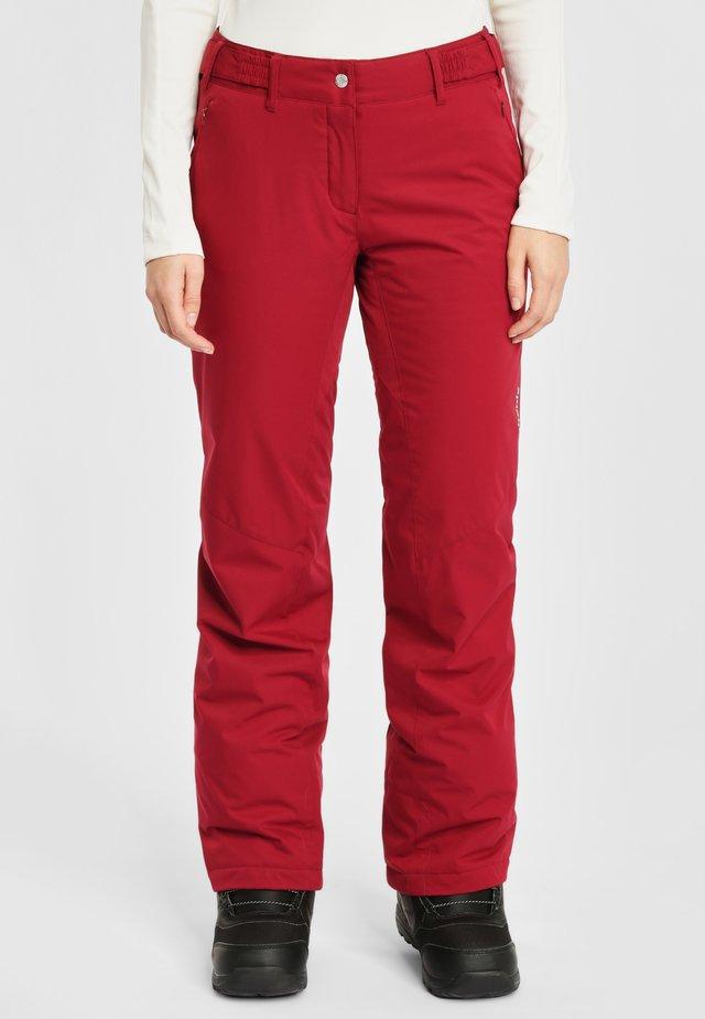 Snow pants - bordeaux