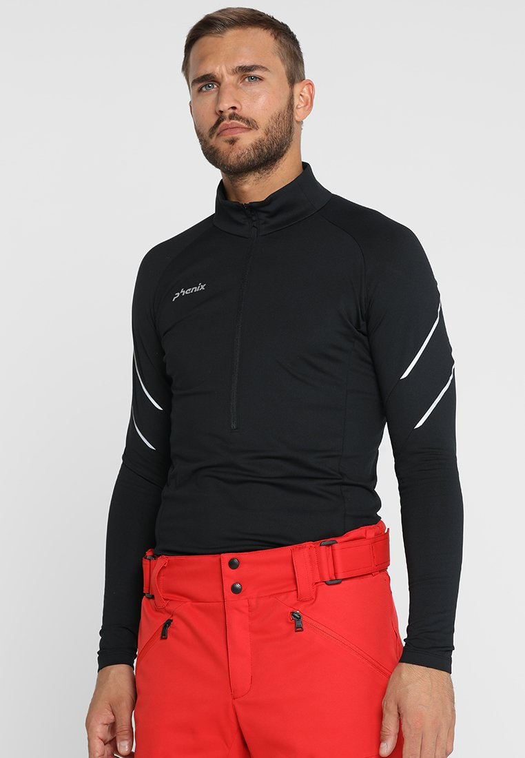 Phenix - YUZAWA 1/2 ZIP - Fleece jumper - black