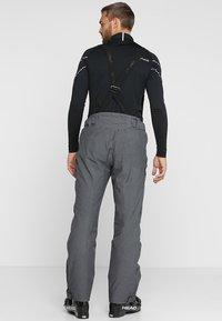 Phenix - HAKUBA SALOPETTE - Pantalón de nieve - heather grey - 2