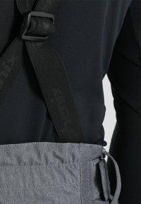 Phenix - HAKUBA SALOPETTE - Pantalón de nieve - heather grey - 5