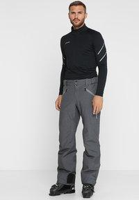Phenix - HAKUBA SALOPETTE - Pantalón de nieve - heather grey - 3