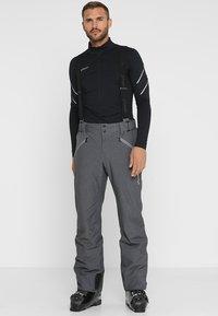 Phenix - HAKUBA SALOPETTE - Pantalón de nieve - heather grey - 0