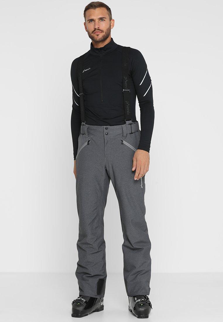 Phenix - HAKUBA SALOPETTE - Pantalón de nieve - heather grey