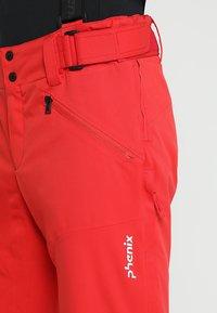 Phenix - HAKUBA SALOPETTE - Pantalón de nieve - red - 4