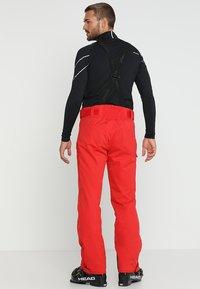 Phenix - HAKUBA SALOPETTE - Pantalón de nieve - red - 2