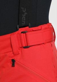 Phenix - HAKUBA SALOPETTE - Pantalón de nieve - red - 5