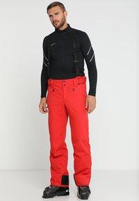 Phenix - HAKUBA SALOPETTE - Pantalón de nieve - red - 0