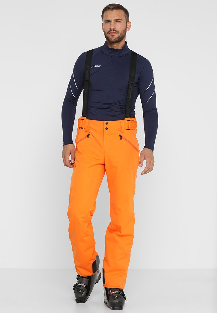 Phenix - HAKUBA SALOPETTE - Snow pants - fluor orange