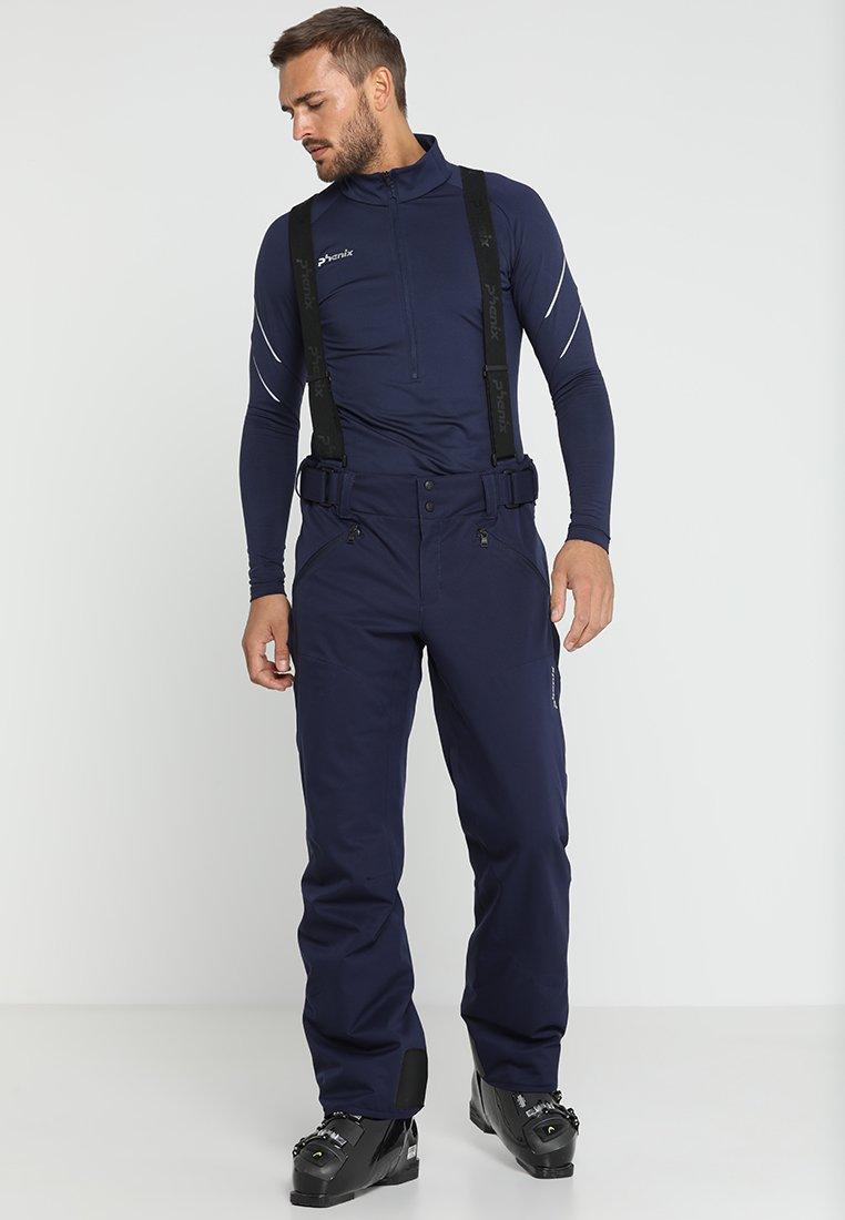 Phenix - HAKUBA SALOPETTE - Snow pants - dark navy