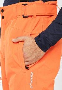 Phenix - ARROW - Pantalón de nieve - vivid orange - 4