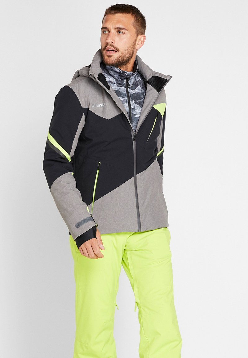 Phenix - ARROW - Pantalón de nieve - yellow green