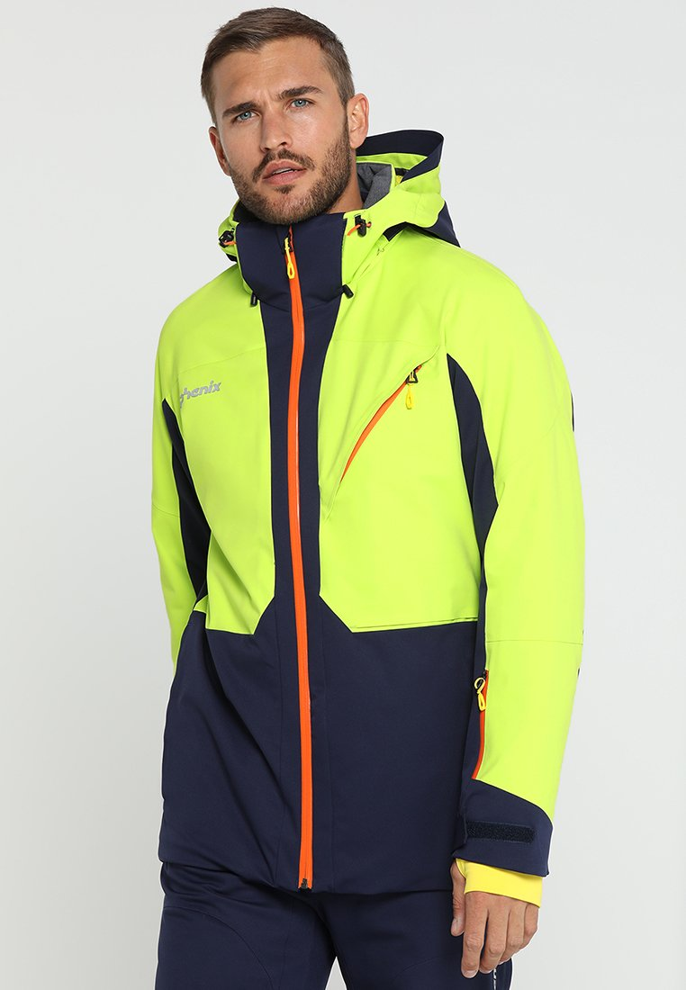 Phenix - MUSH IV - Ski jacket - yellow green