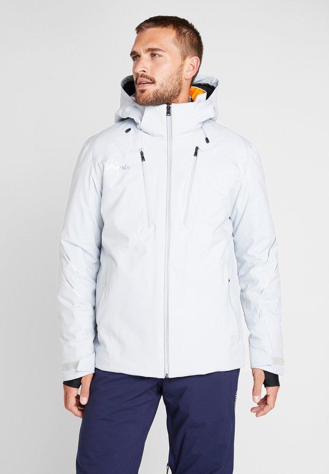 TWIN PEAKS - Ski jacket - silver