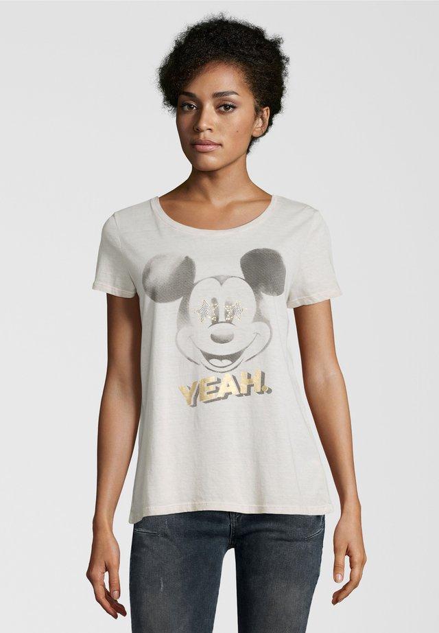 YEAH - Print T-shirt - beige