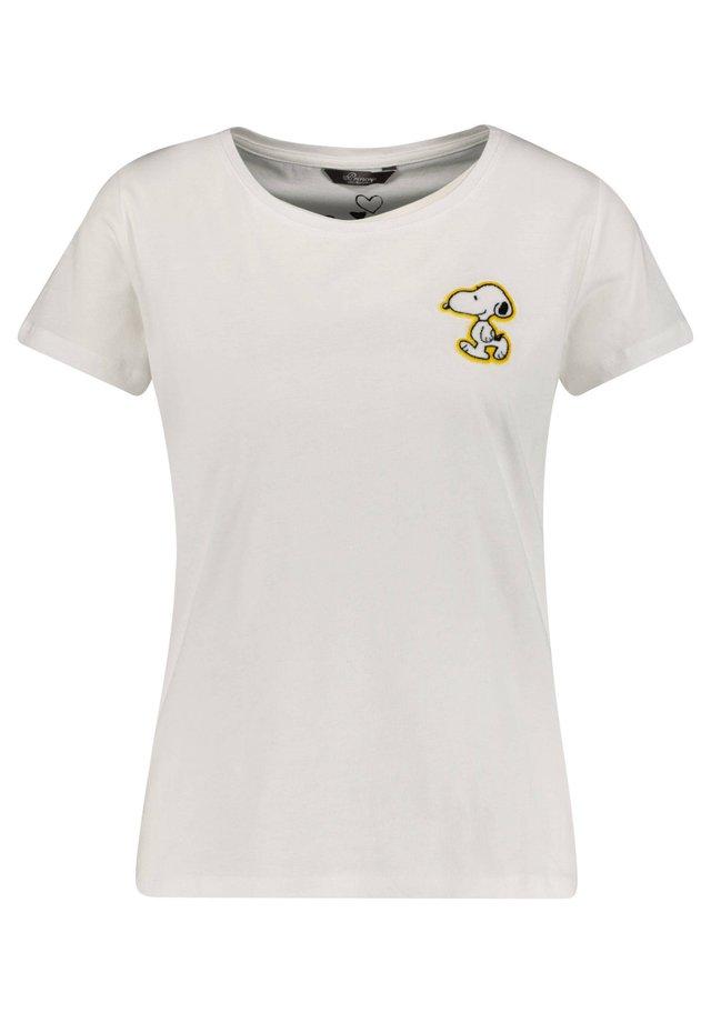 PRINCESS GOES HOLLYWOOD DAMEN T-SHIRT - Print T-shirt - weiss