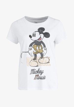 MICKEY ORIGINAL - Print T-shirt - clear whit