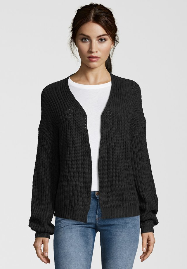 STRICKJACKE CARDIGAN - Cardigan - navy