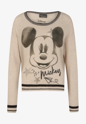 MICKEY RETRO - Jumper - beige