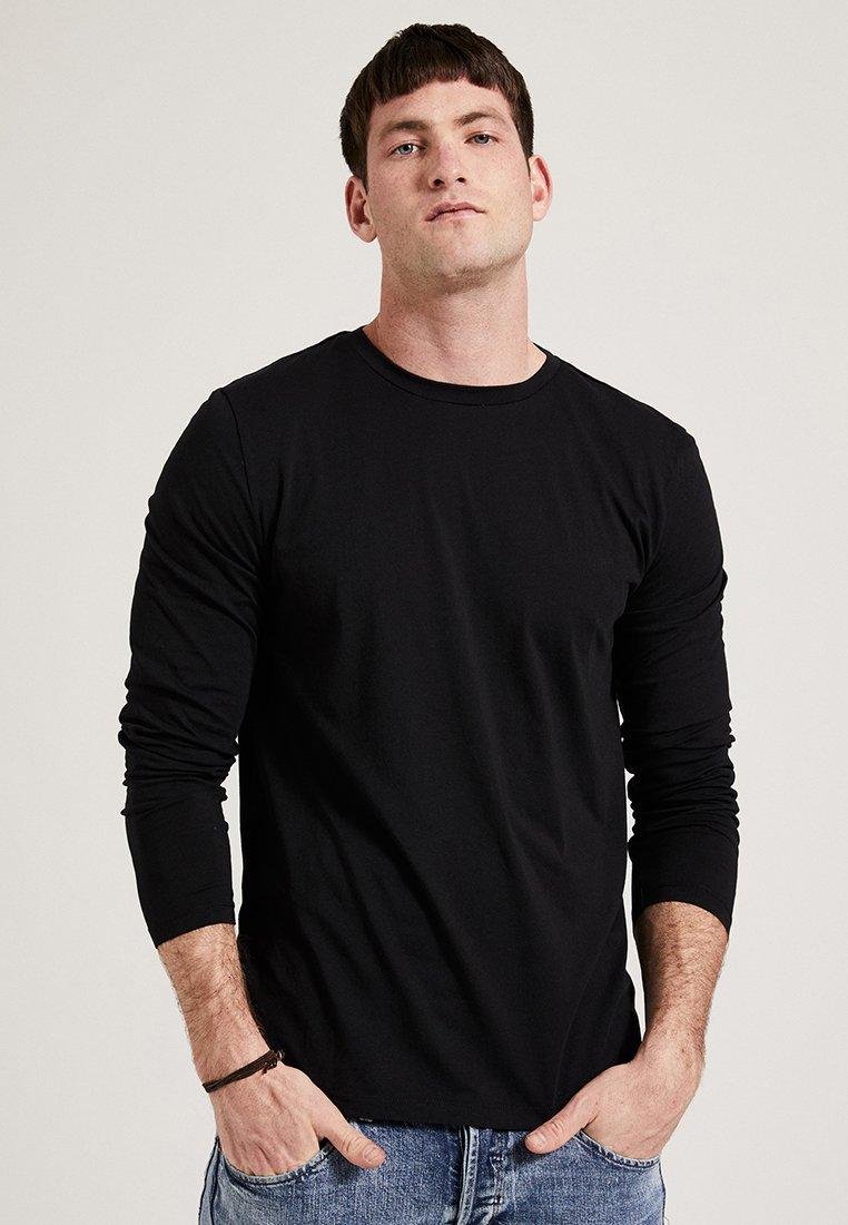 Phyne - Maglietta a manica lunga - black