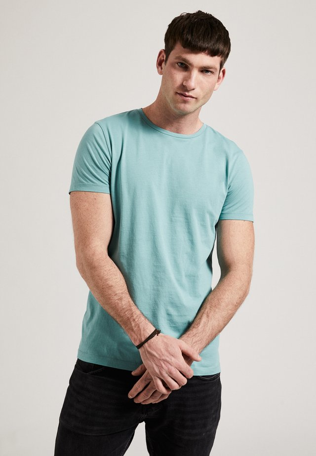 THE ROUND NECK - T-shirt basic - turquoise