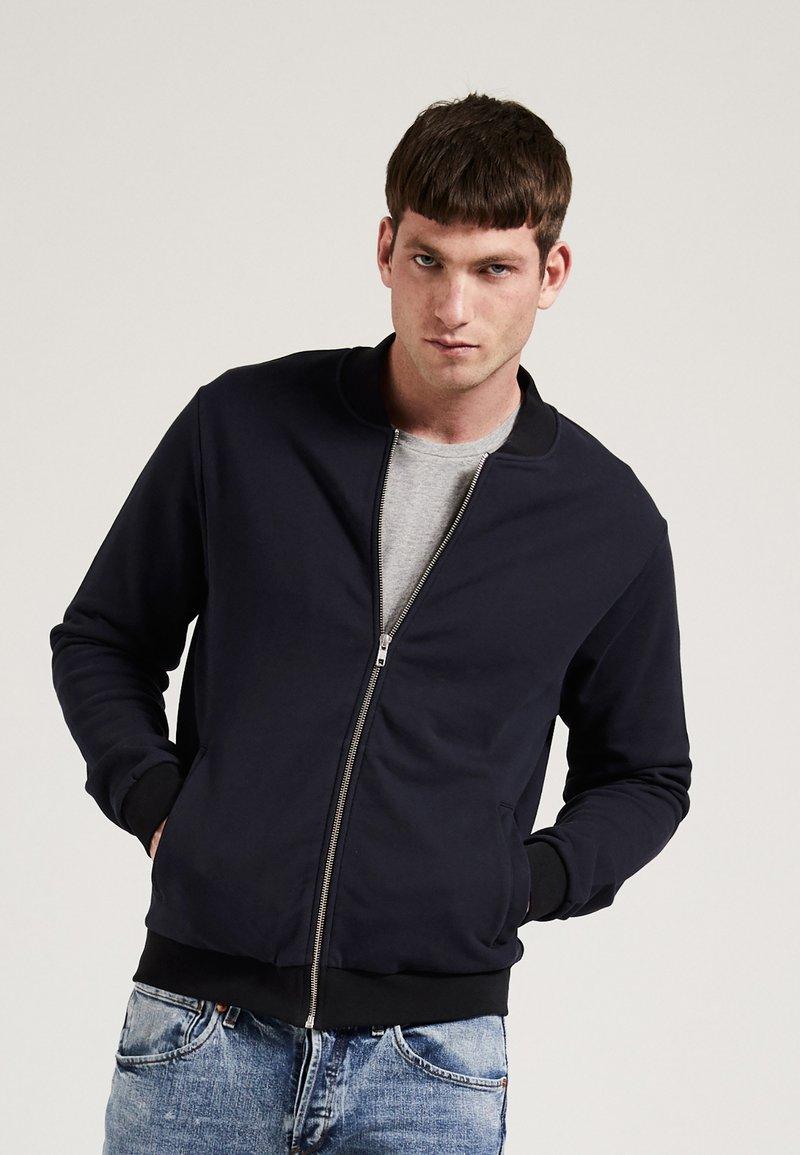 Phyne - Zip-up hoodie - navy
