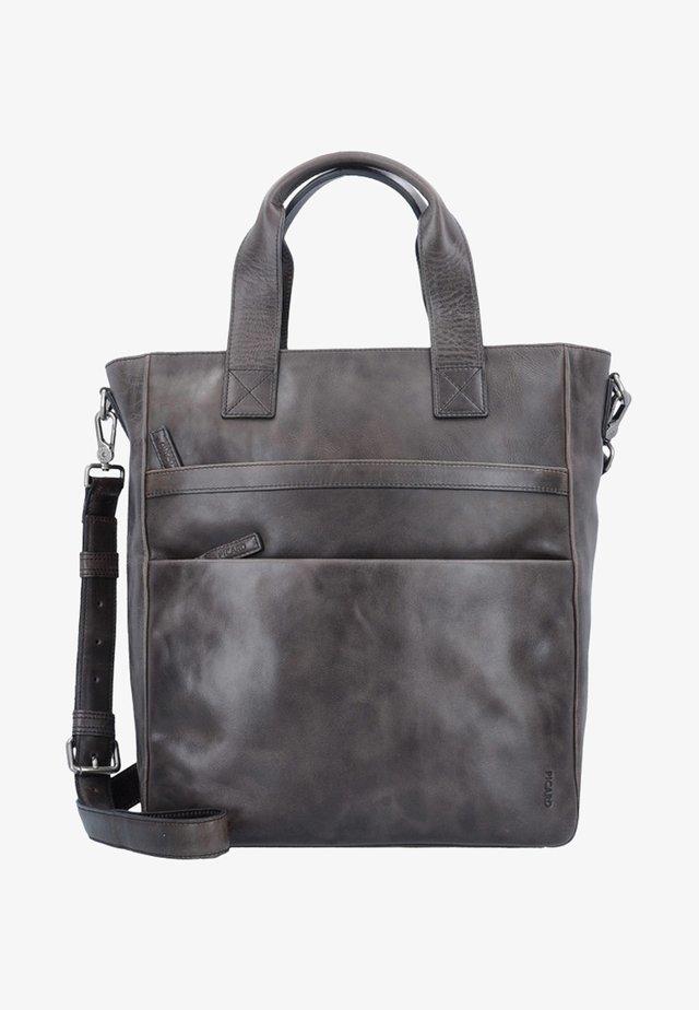 ENZO - Tote bag - grey