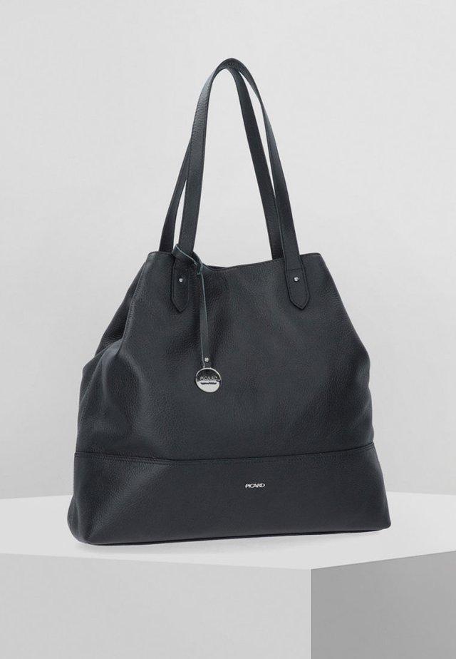 FIELD - Handbag - black
