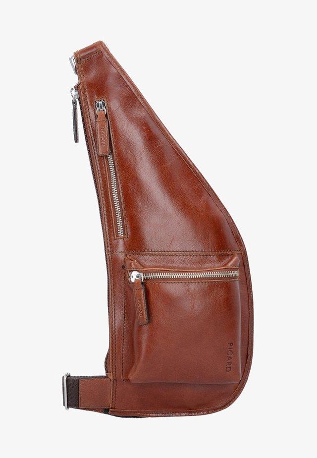 Across body bag - cognac