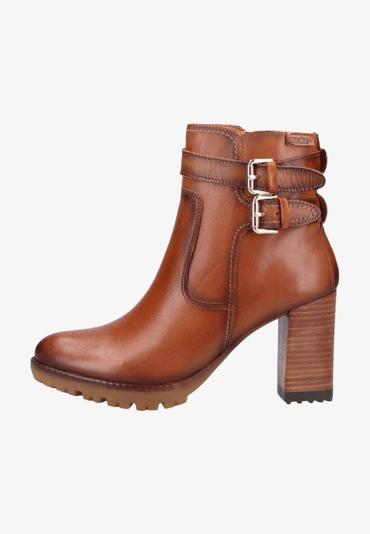 Pikolinos - High heeled ankle boots - brown