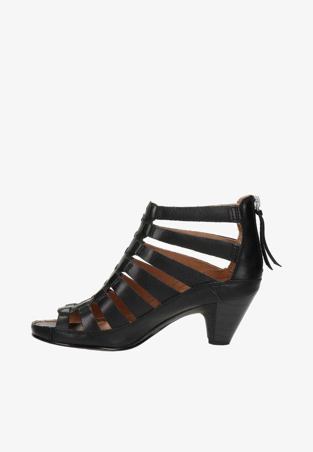 Ankle cuff sandals - zwart