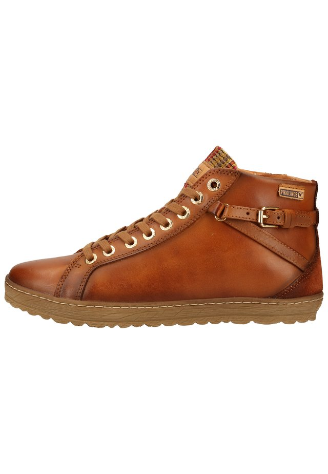 Sneakersy niskie - brandy