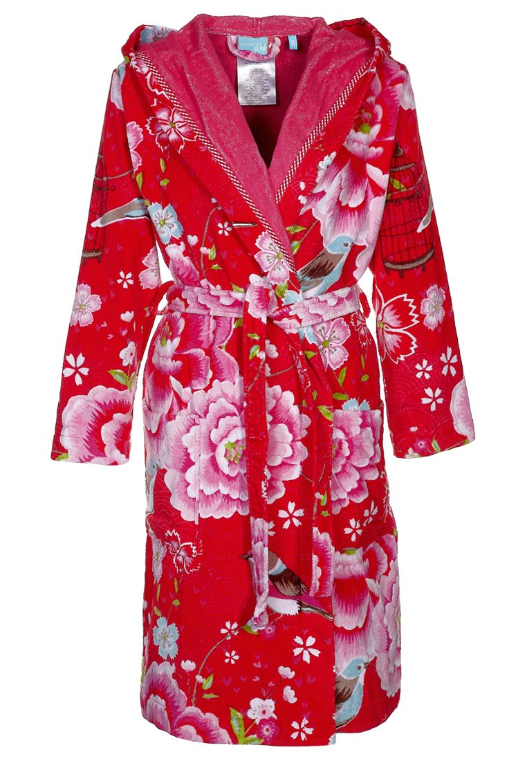 Pip Studio - BIRDS IN PARADISE - Dressing gown - red