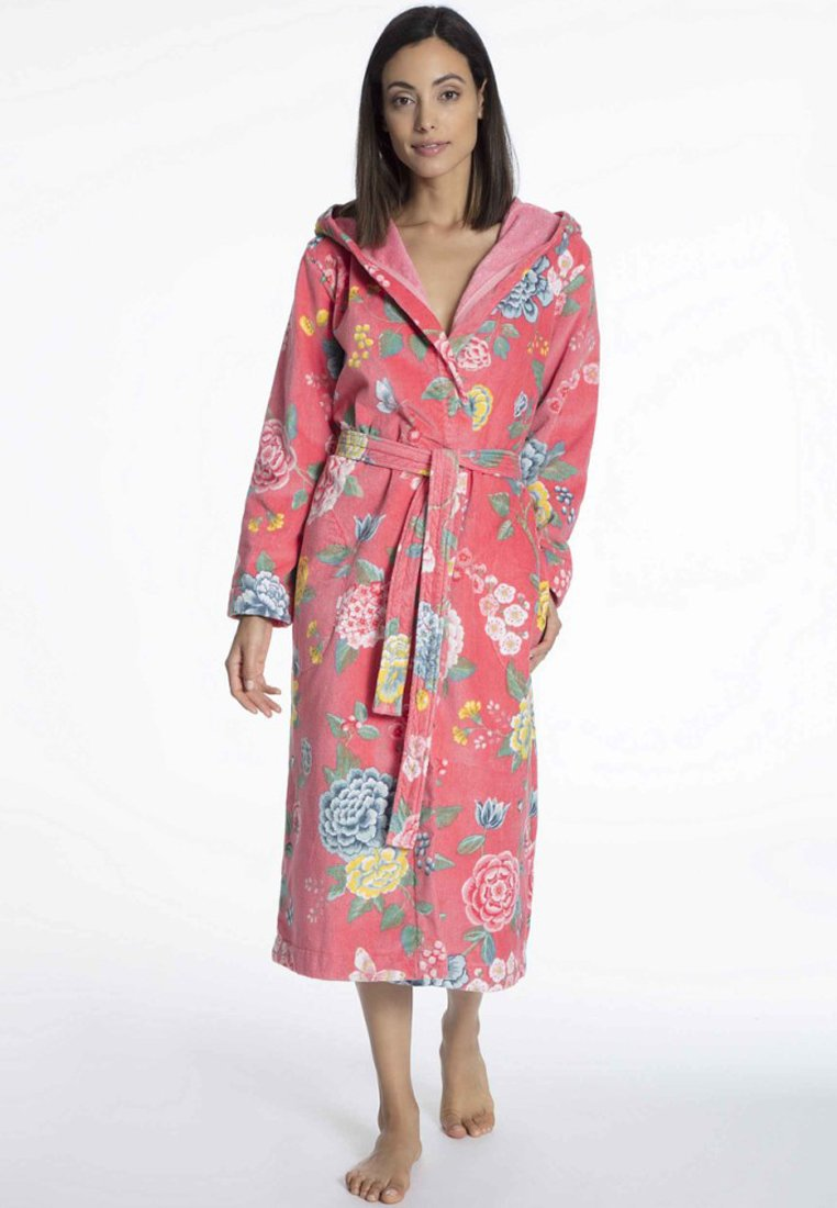 Pip Studio - GOOD EVENING - Dressing gown - coral