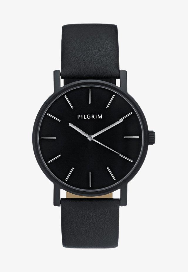 Klocka - hematite/black