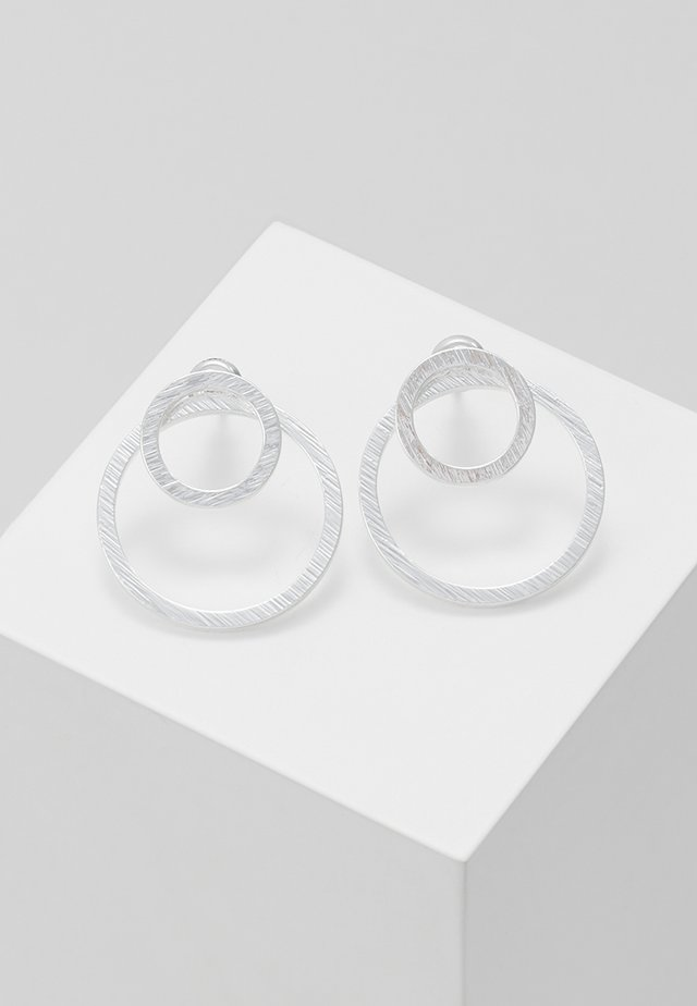 EARRINGS - Boucles d'oreilles - silver-coloured