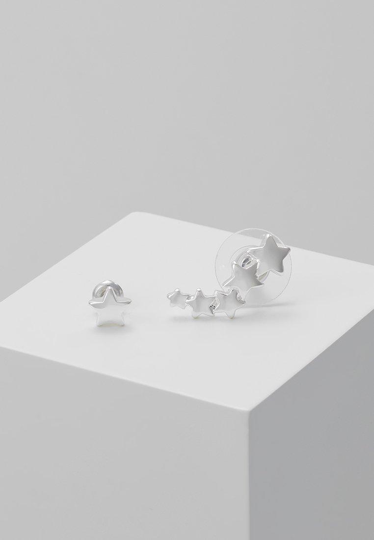 Pilgrim - Earrings - silver-coloured