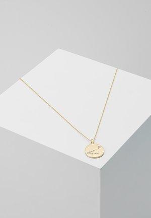 CAPRICORN - Necklace - gold-coloured
