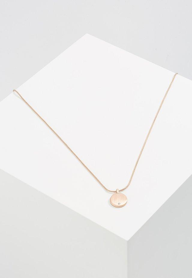 Halskette - rose gold-coloured