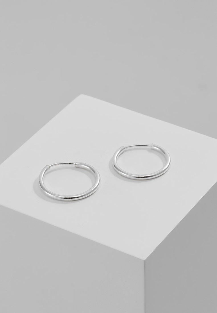 Pilgrim - DIA HOOP - Pendientes - silver-coloured